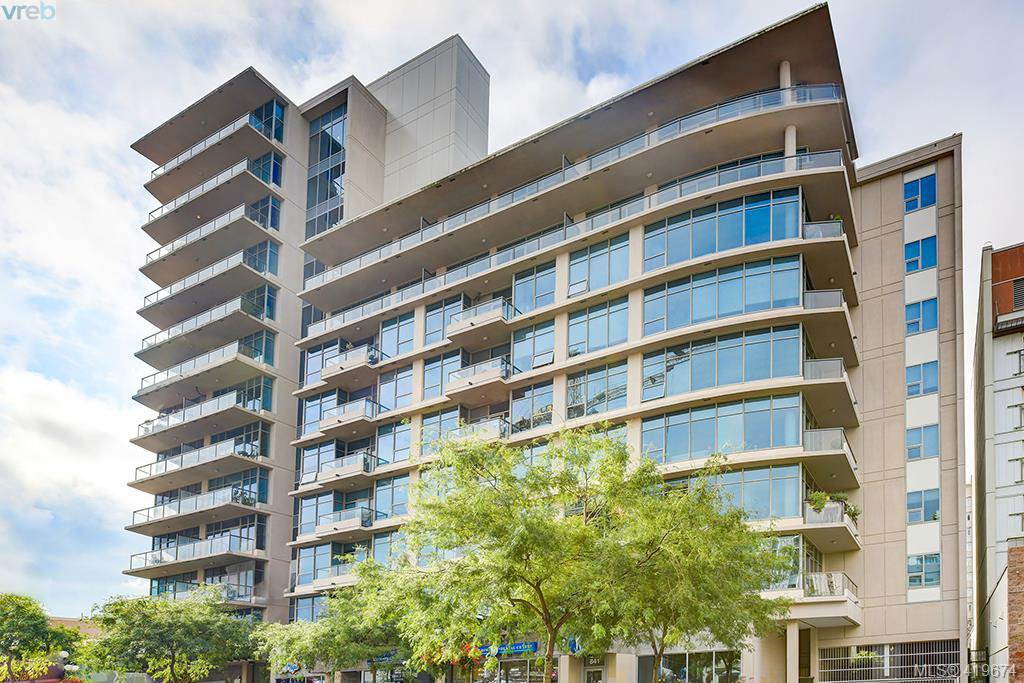 Main Photo: 1211 845 Yates Street in VICTORIA: Vi Downtown Condo Apartment for sale (Victoria)  : MLS®# 419674