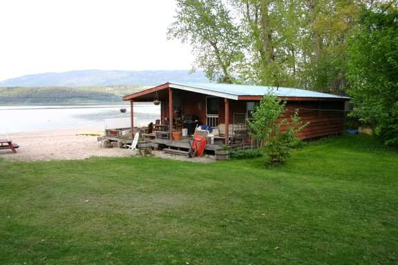 Main Photo: 5088 Pierre's Point Road in Salmon Arm: Waterfront Residential Detached for sale