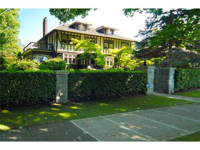 Main Photo: 1699 LAURIER AV in Vancouver: Shaughnessy House for sale (Vancouver West)  : MLS®# V904755