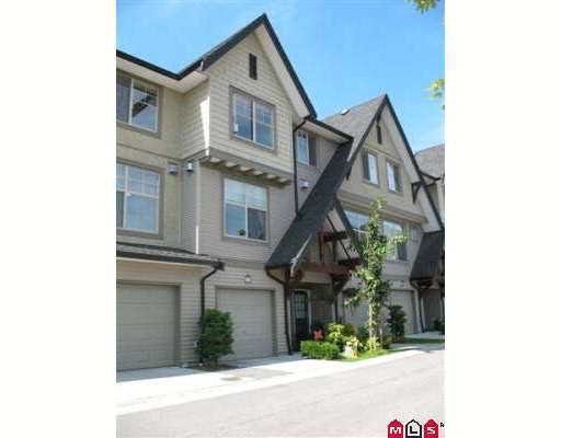 "Main Photo: 119 15152 62A Avenue in Surrey: Sullivan Station Townhouse for sale in ""Uplands"" : MLS®# F2722411"