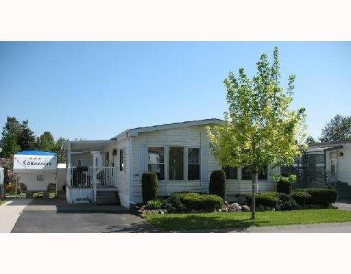 """Main Photo: 156 145 KING EDWARD Avenue in Coquitlam: Maillardville Manufactured Home for sale in """"MILL CREEK VILLAGE."""" : MLS®# V710621"""
