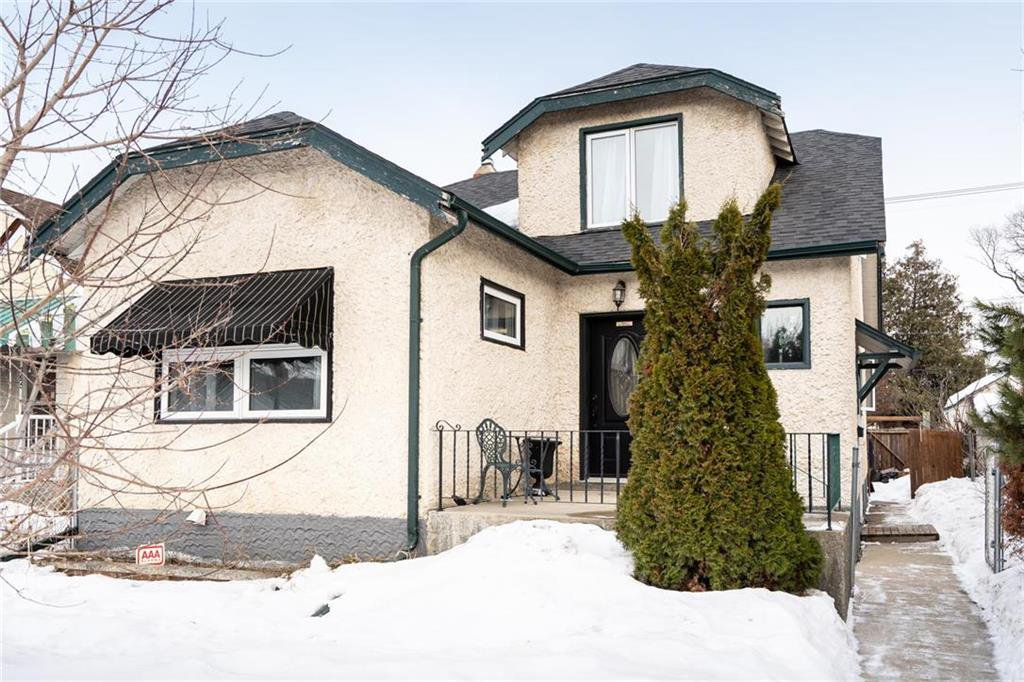 Main Photo: 793 Garfield Street in Winnipeg: Sargent Park Residential for sale (5C)  : MLS®# 202006282
