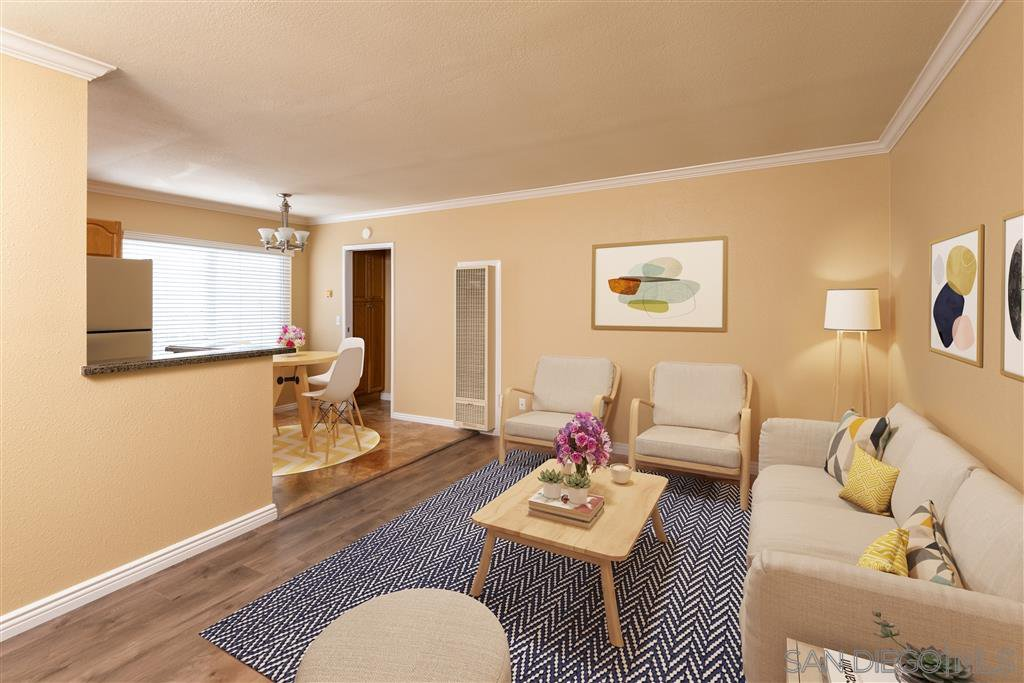 Main Photo: PACIFIC BEACH Condo for sale : 1 bedrooms : 911 Missouri St #7 in San Diego