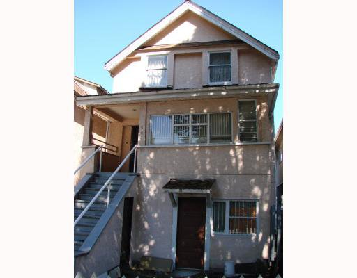 Main Photo: 541 PRIOR ST. in Vancouver: Mount Pleasant VE Multifamily for sale (Vancouver East)  : MLS®# V791271