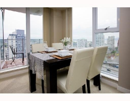 Photo 6: Photos: # 2506 550 PACIFIC ST in Vancouver: Condo for sale : MLS®# V736170