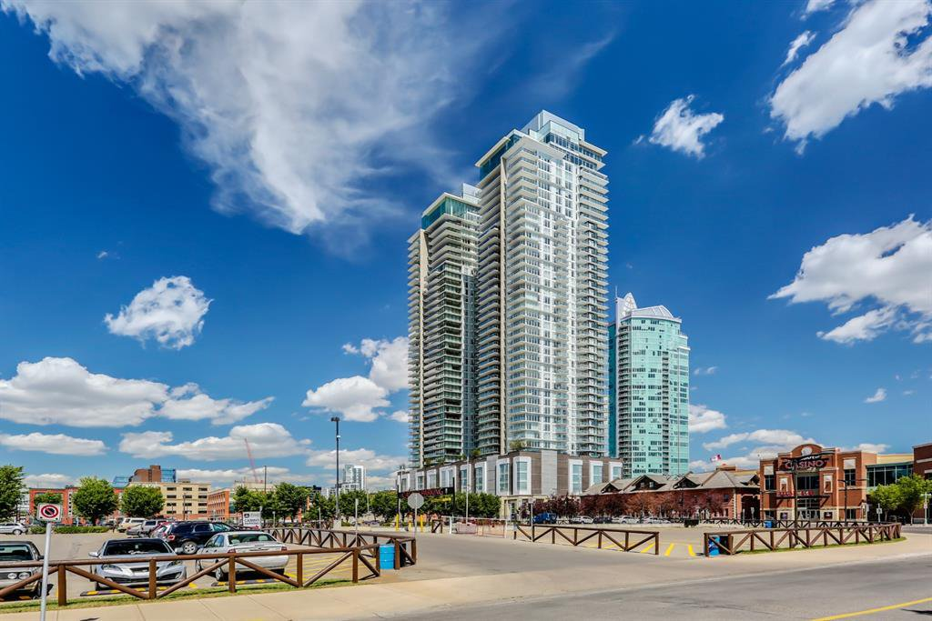 Main Photo: 2504 1188 3 Street SE in Calgary: Beltline Apartment for sale : MLS®# A1036540