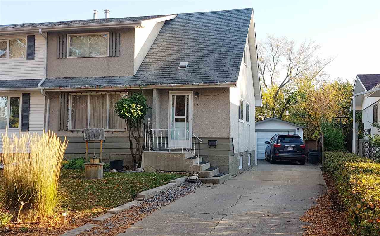Main Photo: 1955 Bonneville Drive: Sherwood Park House Half Duplex for sale : MLS®# E4216585