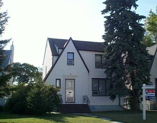 Main Photo: 620 MINTO Street in Winnipeg: West End / Wolseley Single Family Detached for sale (West Winnipeg)  : MLS®# 2512872