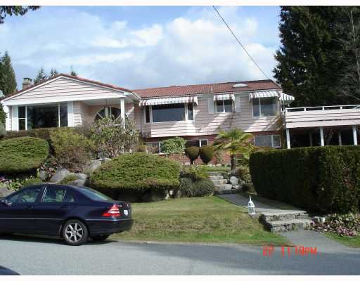 Main Photo: 1245 RENTON Road in West_Vancouver: British Properties House for sale (West Vancouver)  : MLS®# V698192