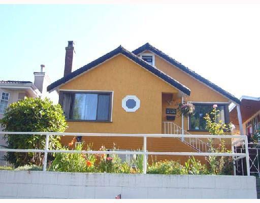 Main Photo: 2736 FRANKLIN STREET in : Hastings Sunrise House for sale : MLS®# V731483