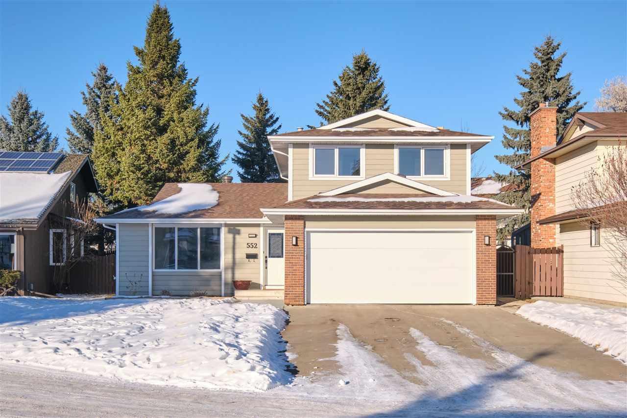 Main Photo: 552 WAHSTAO Road in Edmonton: Zone 22 House for sale : MLS®# E4224947