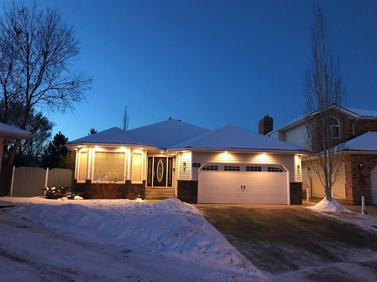 Main Photo: 1716 BEARSPAW Drive E in Edmonton: Zone 16 House for sale : MLS®# E4182661