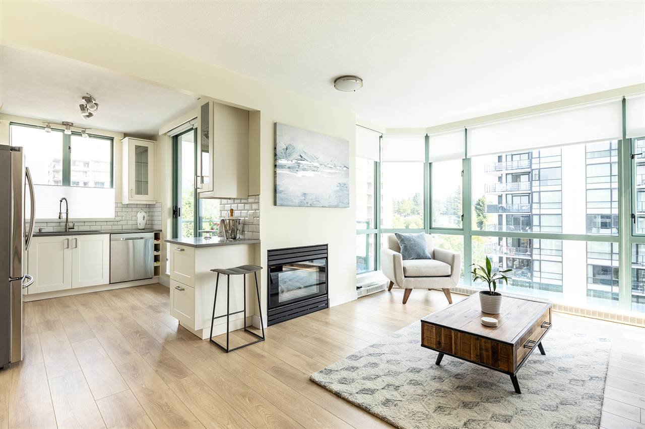 "Main Photo: 801 140 E 14TH Street in North Vancouver: Central Lonsdale Condo for sale in ""Springhill Place"" : MLS®# R2444065"