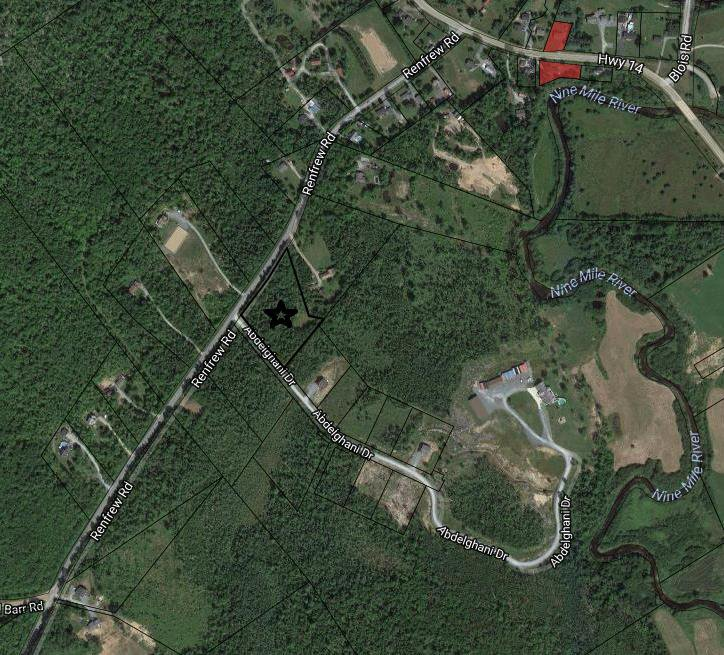 Main Photo: 1090 Renfrew Road in Nine Mile River: 105-East Hants/Colchester West Vacant Land for sale (Halifax-Dartmouth)  : MLS®# 202011228