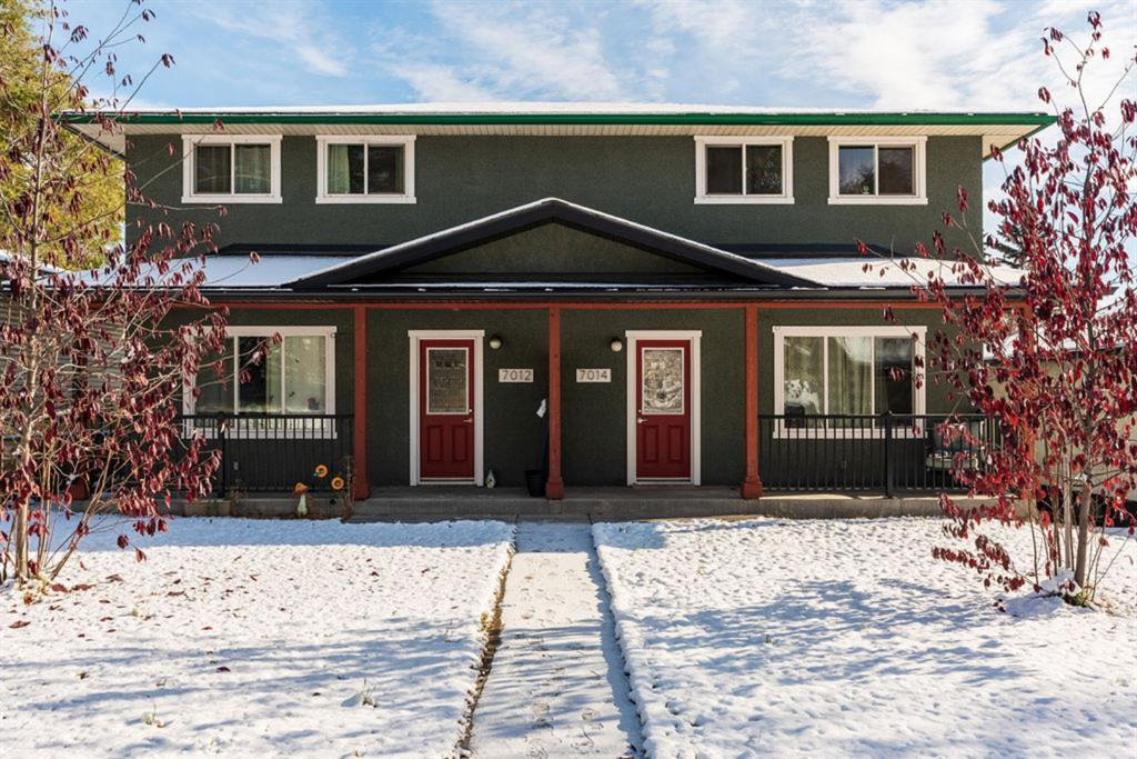 Main Photo: 7012 22a Street in Calgary: Ogden Duplex for sale : MLS®# A1044150