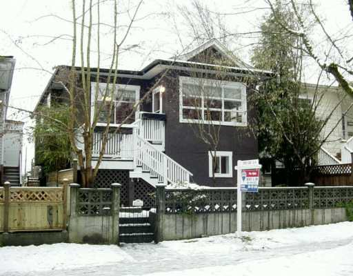 Main Photo: 4546 JOHN Street in Vancouver: Main House for sale (Vancouver East)  : MLS®# V624860