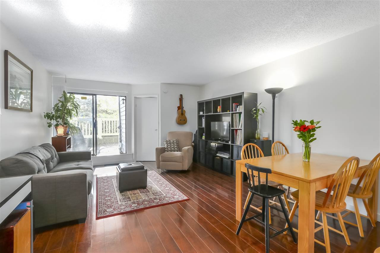 """Main Photo: 114 1545 E 2ND Avenue in Vancouver: Grandview Woodland Condo for sale in """"TALISHAN WOODS"""" (Vancouver East)  : MLS®# R2397150"""