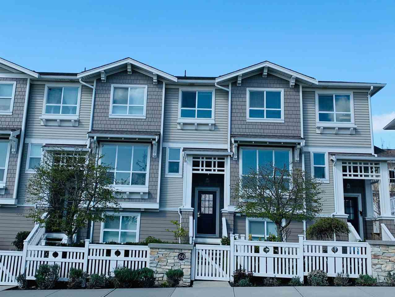 """Main Photo: 60 8355 DELSOM Way in Delta: Nordel Townhouse for sale in """"SPYGLASS AT SUNSTONE"""" (N. Delta)  : MLS®# R2432860"""