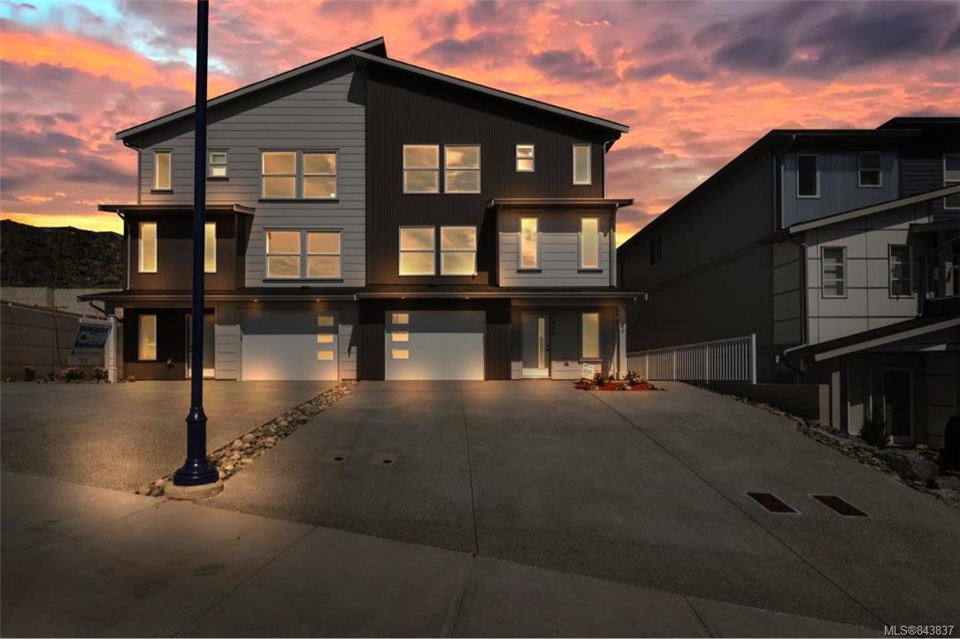 Main Photo: 7026 Brailsford Pl in Sooke: Sk Sooke Vill Core Half Duplex for sale : MLS®# 843837