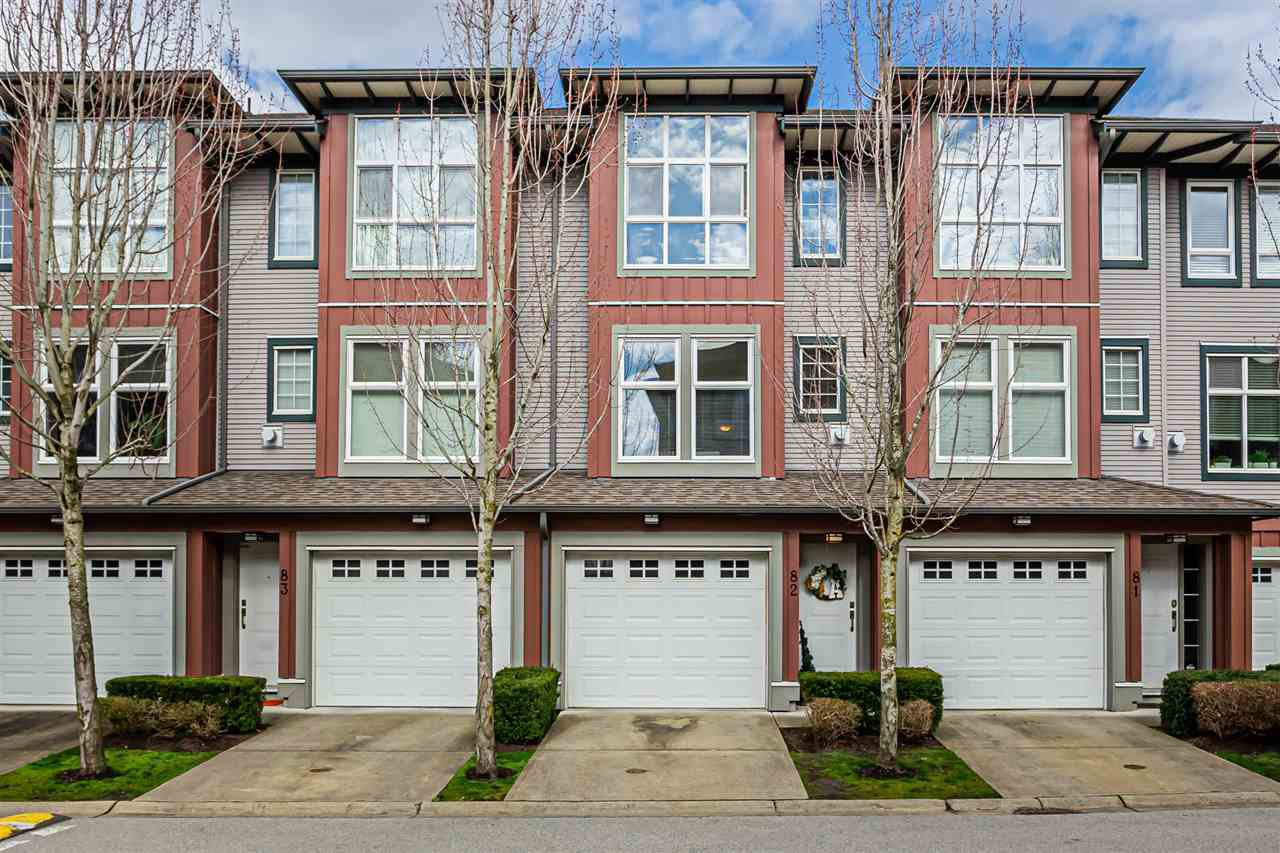 "Main Photo: 82 18777 68A Avenue in Surrey: Clayton Townhouse for sale in ""COMPASS"" (Cloverdale)  : MLS®# R2444281"