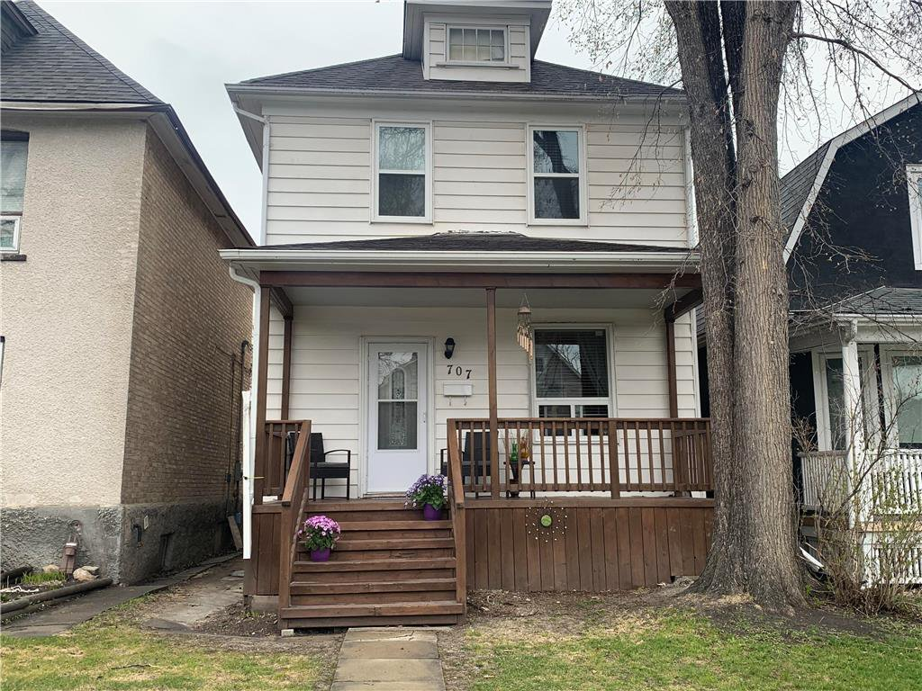Main Photo: 707 Strathcona Street in Winnipeg: Residential for sale (5C)  : MLS®# 202010276