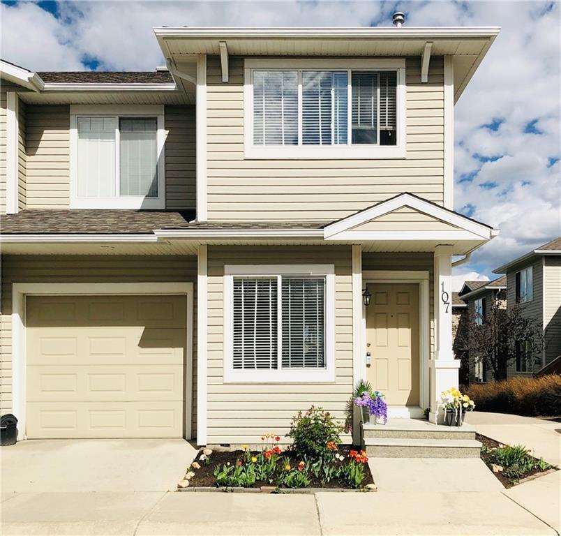 Main Photo: 107 BRIDLERIDGE Manor SW in Calgary: Bridlewood Row/Townhouse for sale : MLS®# C4299588