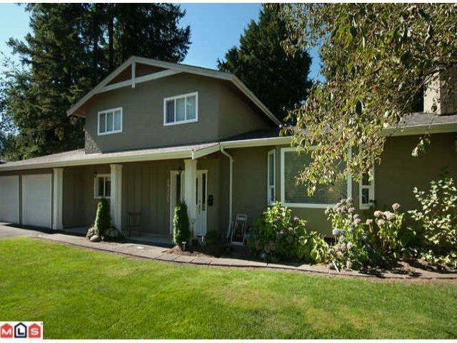 Main Photo: 19721 47TH AV in Langley: Langley City Home for sale ()  : MLS®# F1223312