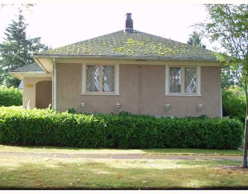 Main Photo: 1008 CONNAUGHT Drive in Vancouver: Shaughnessy House for sale (Vancouver West)  : MLS®# V666974