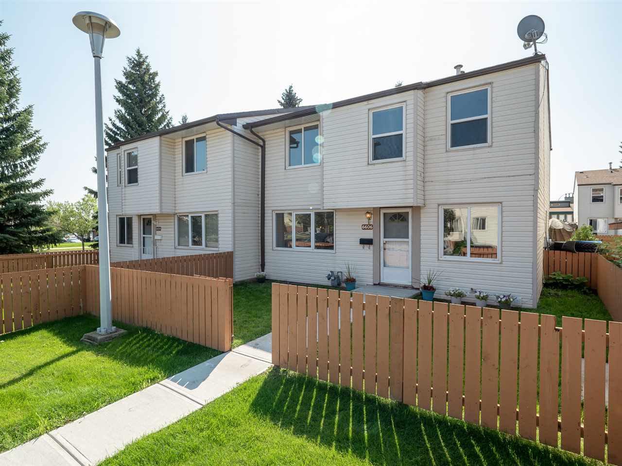 Main Photo: 6606 178 Street in Edmonton: Zone 20 Townhouse for sale : MLS®# E4169994