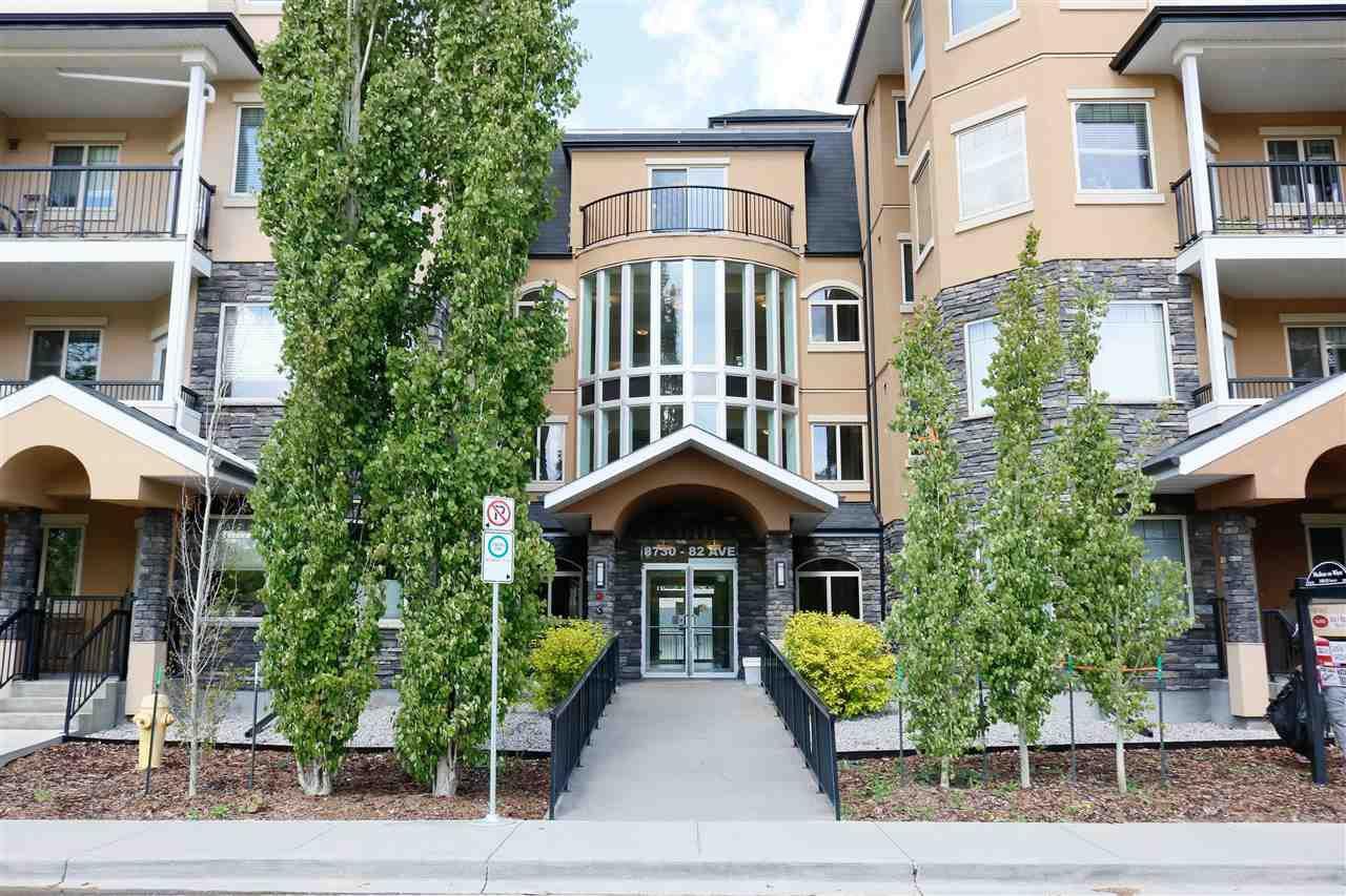 Main Photo: 303 8730 82 Avenue in Edmonton: Zone 18 Condo for sale : MLS®# E4199033