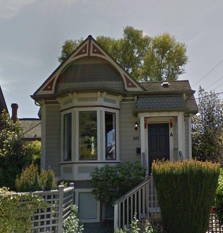 Main Photo: 601 Toronto Street in Victoria: James Bay House Duplex for sale (VICTORIA)  : MLS®# 843204