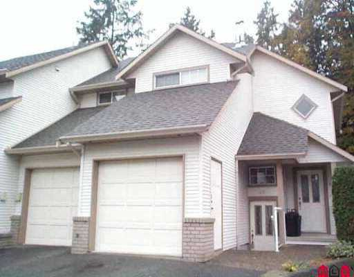 """Main Photo: 43 32361 MCRAE AV in Mission: Mission BC Townhouse for sale in """"Spencer Estates"""" : MLS®# F2522761"""