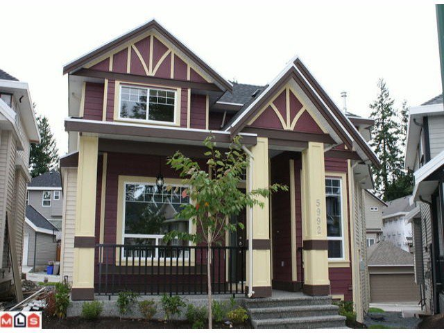 Main Photo: 5992 151ST ST in Surrey: Sullivan Station House for sale : MLS®# F1119153