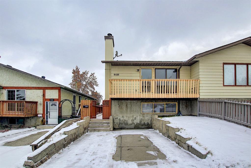 Main Photo: 8416 Centre Street NE in Calgary: Beddington Heights Semi Detached for sale : MLS®# A1044335