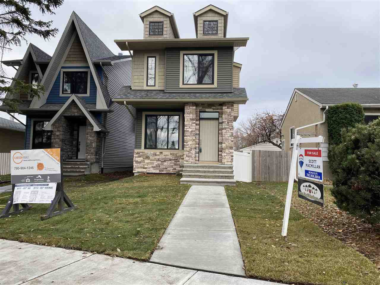 Main Photo: 9113 65 Avenue in Edmonton: Zone 17 House for sale : MLS®# E4221418