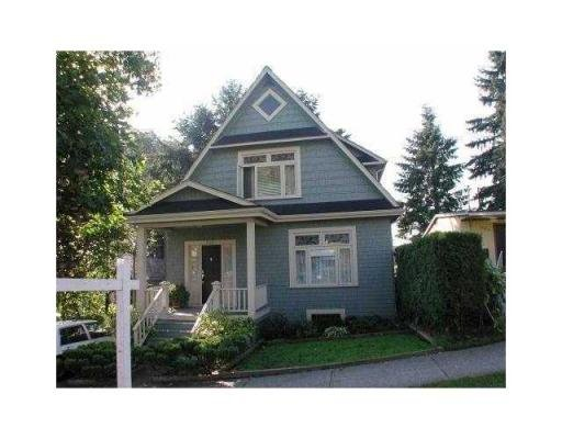 Main Photo: 344 ALBERTA ST in New Westminster: House for sale : MLS®# V864992