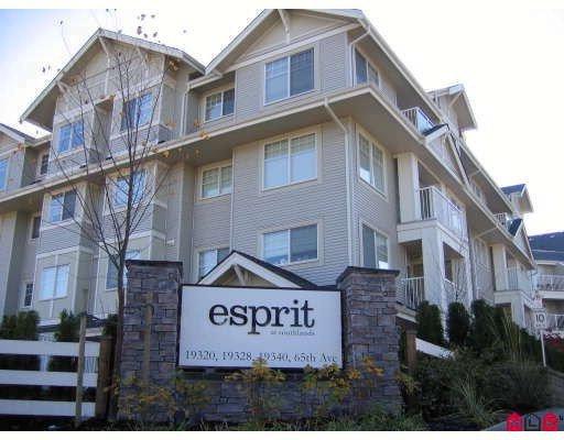 "Main Photo: 410 19340 65TH Avenue in Surrey: Clayton Condo for sale in ""Esprit"" (Cloverdale)  : MLS®# F2727153"