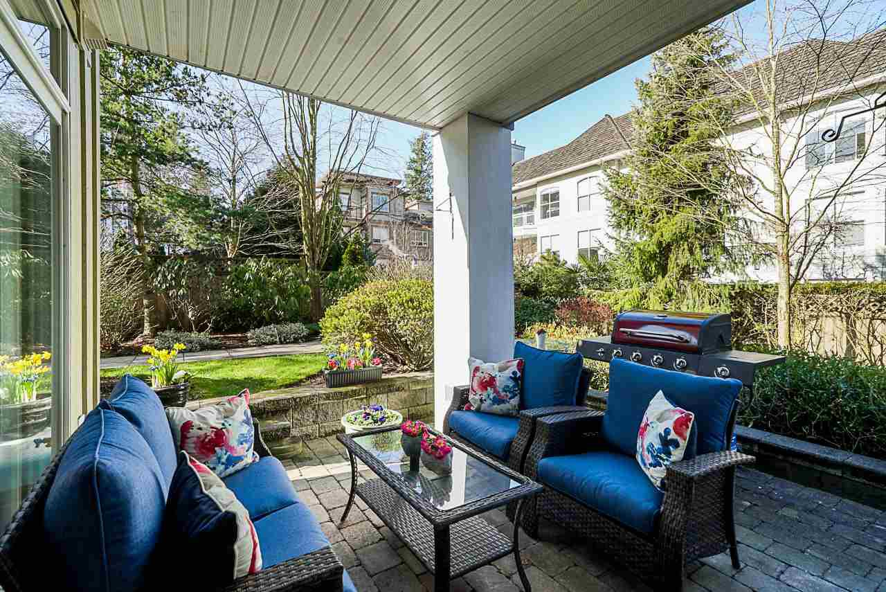 "Main Photo: 108 15299 17A Avenue in Surrey: King George Corridor Condo for sale in ""FLAGSTONE WALK"" (South Surrey White Rock)  : MLS®# R2437617"