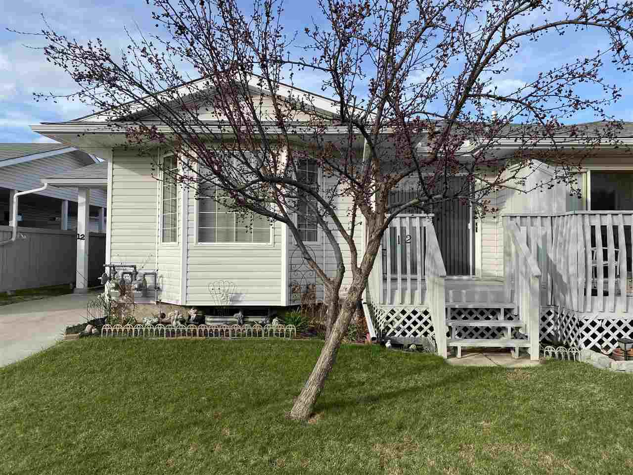 Main Photo: 12 1904 MILL_WOODS Road in Edmonton: Zone 29 House Half Duplex for sale : MLS®# E4191053