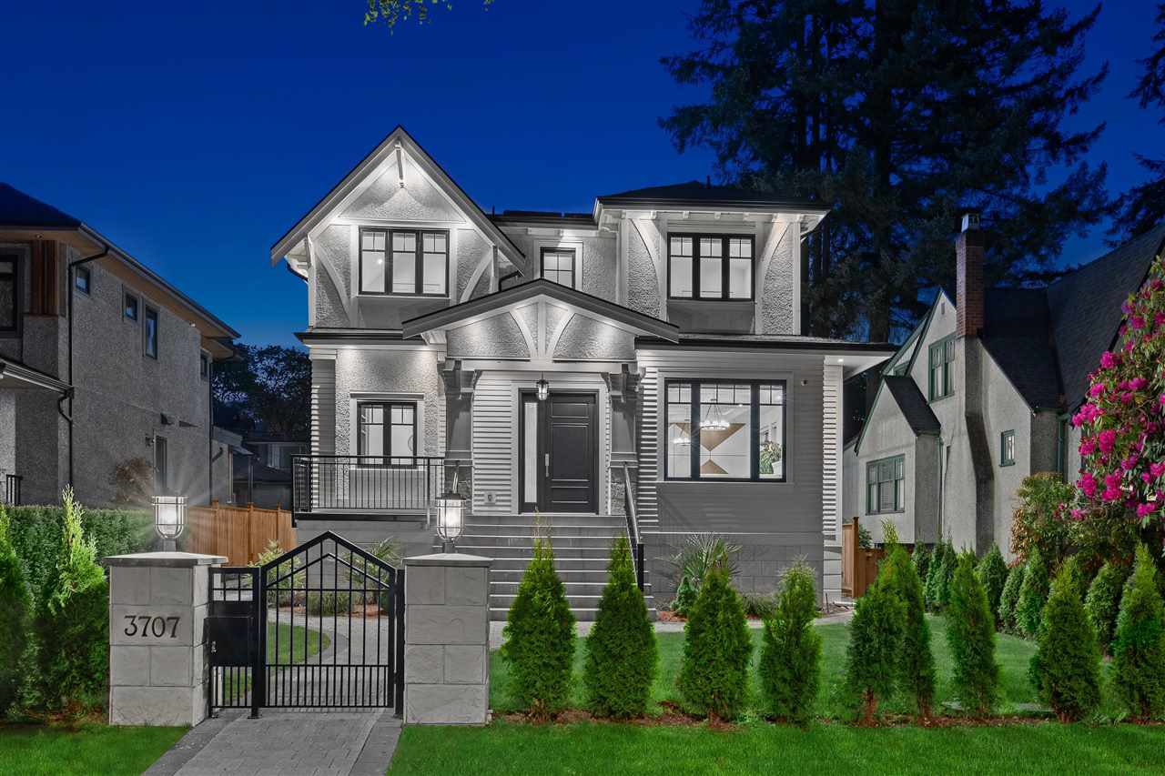 Main Photo: 3707 W 37TH Avenue in Vancouver: Dunbar House for sale (Vancouver West)  : MLS®# R2496710