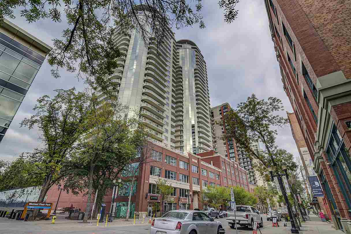 Main Photo: 2702 10136 104 Street in Edmonton: Zone 12 Condo for sale : MLS®# E4214787