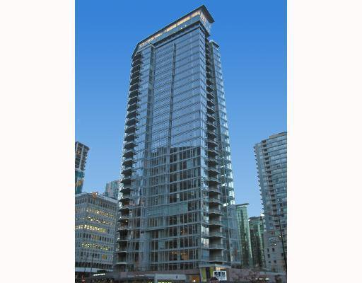 Main Photo: 1401 1205 W HASTINGS Street in Vancouver: Coal Harbour Condo for sale (Vancouver West)  : MLS®# V693190