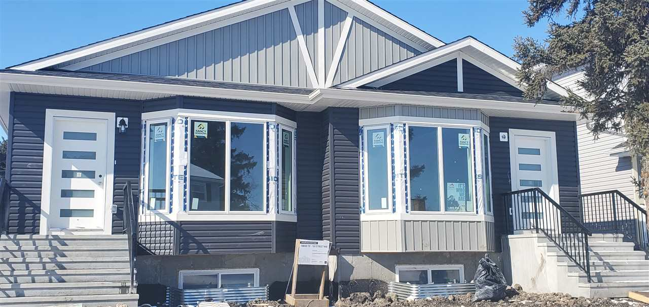 Main Photo: 10308 159 Street in Edmonton: Zone 21 House Half Duplex for sale : MLS®# E4192556