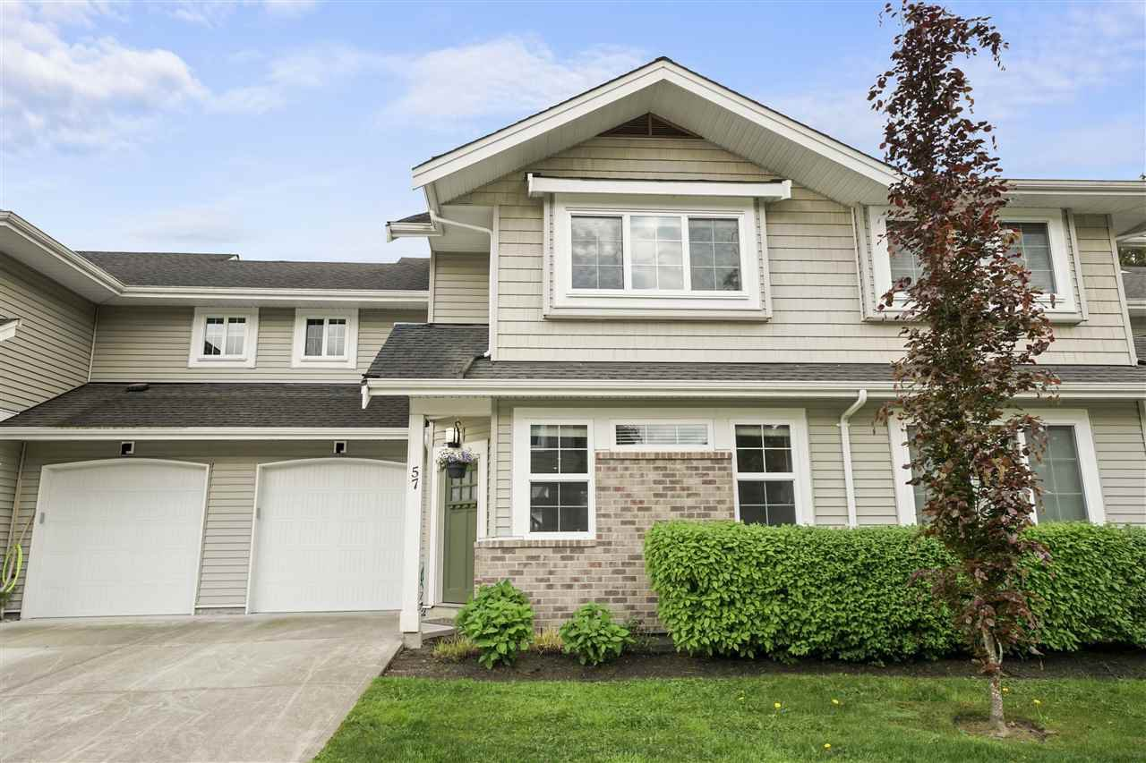 "Main Photo: 57 12161 237 Street in Maple Ridge: East Central Townhouse for sale in ""Village Green"" : MLS®# R2454363"