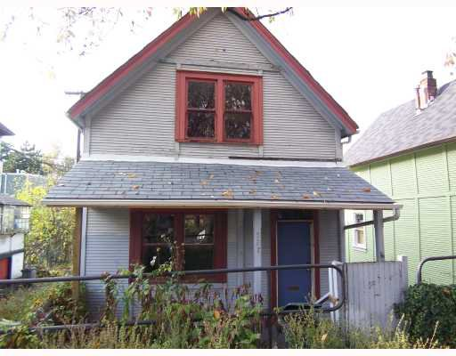 Main Photo: 521 HAWKS Avenue in Vancouver: Mount Pleasant VE House for sale (Vancouver East)  : MLS®# V676359