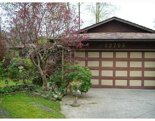 Main Photo: 22795 BALABANIAN Crescent in Maple_Ridge: East Central House for sale (Maple Ridge)  : MLS®# V707313