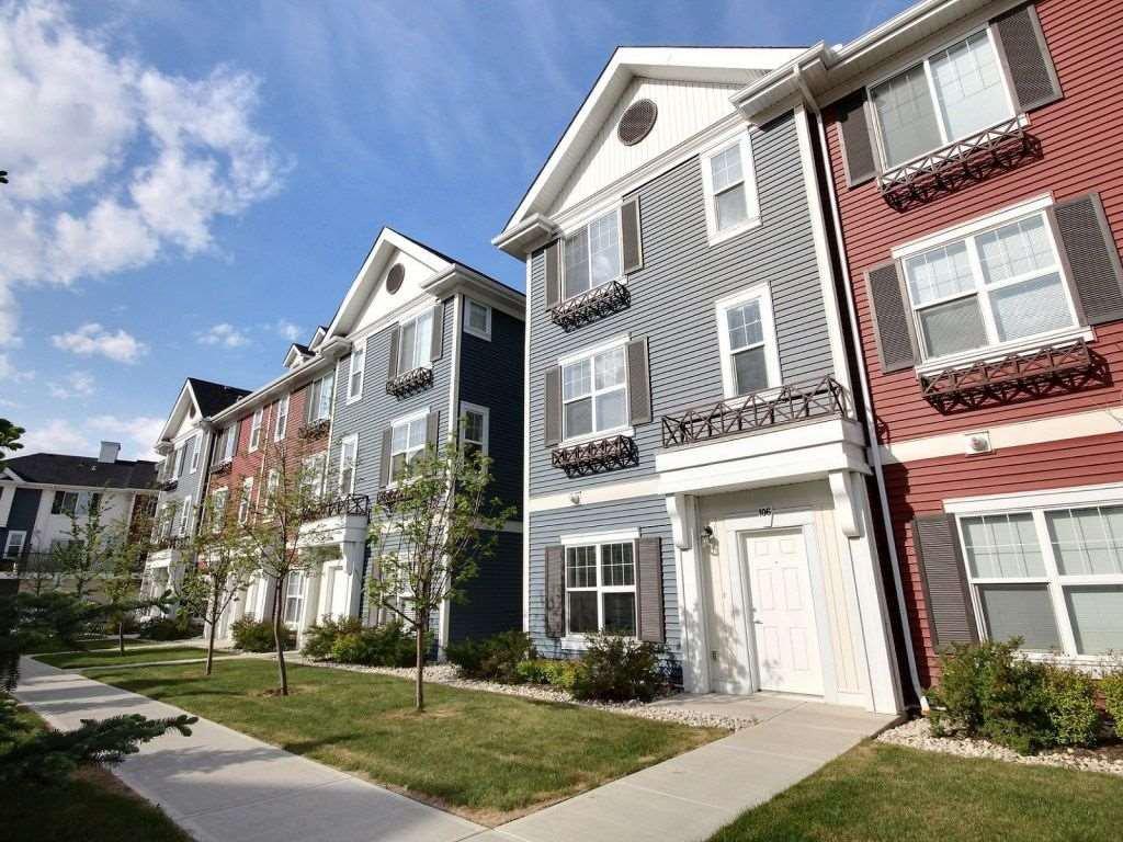 Main Photo: 106 8315 180 Avenue in Edmonton: Zone 28 Townhouse for sale : MLS®# E4171714