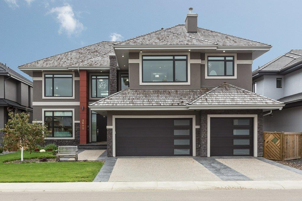 Main Photo: 3629 Westcliff Way in Edmonton: Zone 56 House for sale : MLS®# E4173525