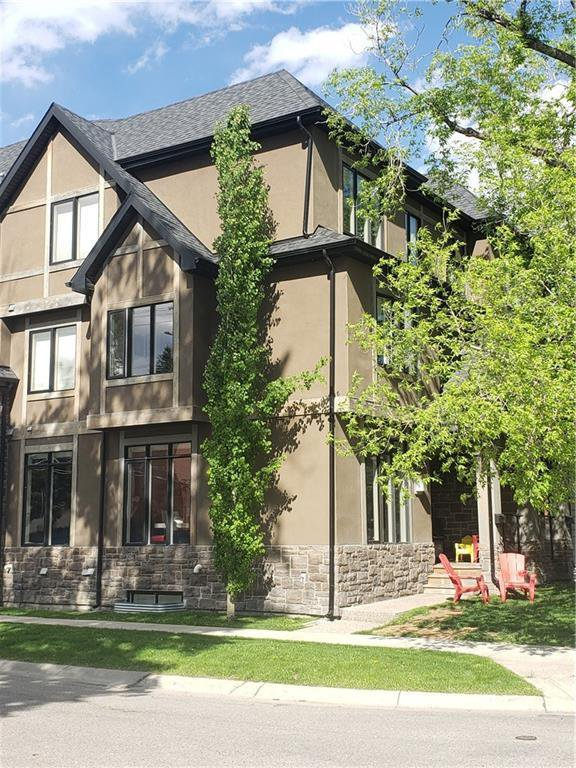 Main Photo: 142 12 Avenue NW in Calgary: Crescent Heights Row/Townhouse for sale : MLS®# C4290124