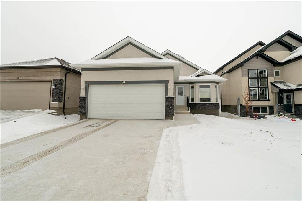 Main Photo: 63 Twickenham Circle in Winnipeg: River Park South Residential for sale (2F)  : MLS®# 202000932